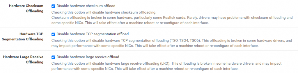 TCP Segmentation Checksum Offloading