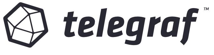 Das Telegraf Logo und Icon