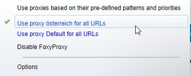 Austria Proxy Testen