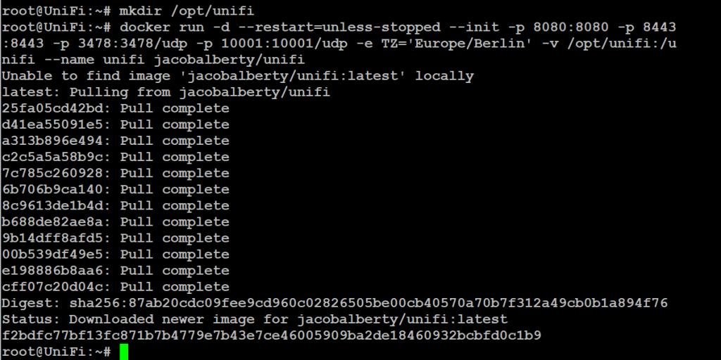 UniFi Controller als Docker Container