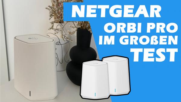 NETGEAR Orbi Pro SXK30 WiFi 6 Mini AX1800 WLAN Mesh System